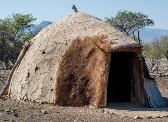 Himba hut Opuwo Namibië