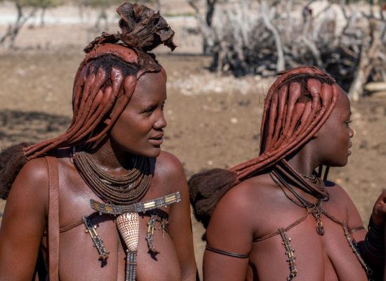 Himba vrouwen Namibië