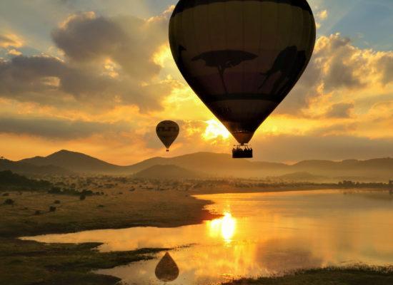 Luchtballon 2 Afrika