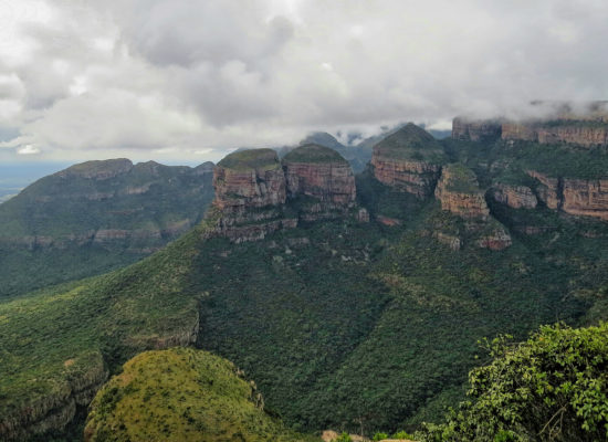 De drie Rondavels, Blyde River Canyon.